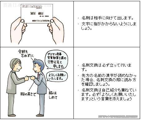 任妻交换_商务日语——商务礼仪:怎样交换名片才合适?